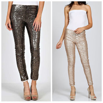 Sequins Leggings