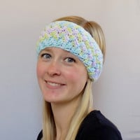 Knit Headband, Woman's Ear Warmer, Winter Headband