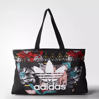 adidas Originals Tote Bag In Flowers Print