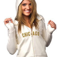 """Chicago Bears Women's Official NFL """"PlayAction"""" Hoodie"""