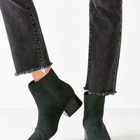 Pola Suede Green Chelsea Boot   Urban Outfitters