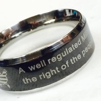 2nd Amendment Ring