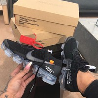 NIKE AIR VAPORMAX OFF WHITE Retro Running Shoes