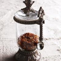 GG Collection Condiment Jar with Spoon - Horchow