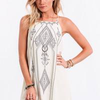 All In Good Time Embroidered Dress