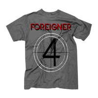 Foreigner T-Shirt 4 Album Cover - XL at Hello Music