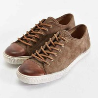 Frye Chambers Cap-Toe Low-Top Shoe- Tan