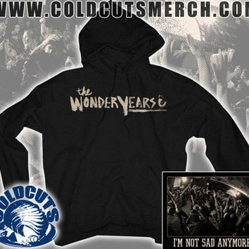 """Cold Cuts Merch - The Wonder Years """"Not Sad Anymore"""" Hoodie"""