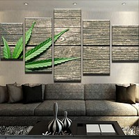 Home On The Cannabis Farm - Artwork - Dispensary Decor - CannaDecor