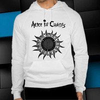 alice in chains logo unisex hoodie, clothing men woman, sweater