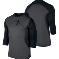Nike Men's Swingman Core 3/4 Sleeve Baseball Shirt
