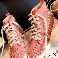 Studded Sneakers from MBELLISH
