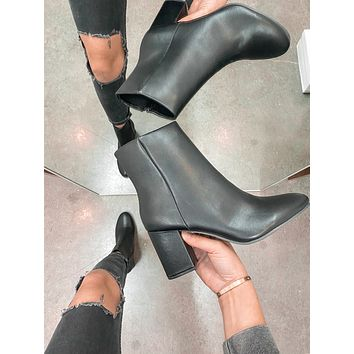 Malone Booties (Black)