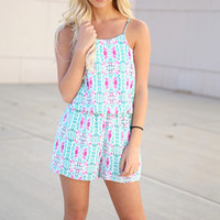 we found love romper - jade