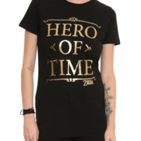 The Legend Of Zelda Hero Of Time Girls T-Shirt