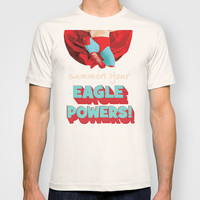 summon your eagle powers T-shirt by Studiomarshallarts