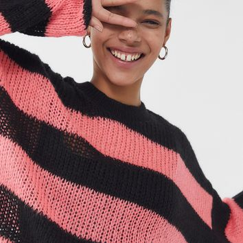 The Ragged Priest Striped Long Sleeve Sweater   Urban Outfitters