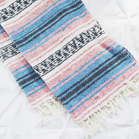 Falsa Mexican Blanket- baby blue
