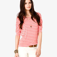 Striped Dolman Top | FOREVER 21 - 2027335290