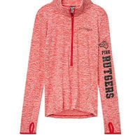 Rutgers University Ultimate Deep Zip - PINK - Victoria's Secret