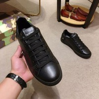 DCCK Valentino Men Casual Shoes Boots fashionable casual leather
