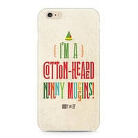 Buddy the Elf Phone Case, I'm a Cotton-Headed Ninny Muggins Phone Case, Funny Holiday Phone Case, iPhone, Samsung Galaxy