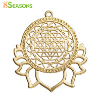 Copper Sri Yantra Meditation Pendant