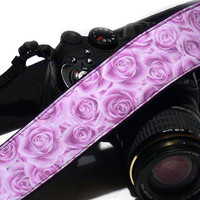 Roses Camera Strap. Canon Nikon Camera Strap. Photo Camera Accessories
