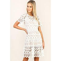 Dreaming In Lace Dress