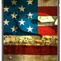 GrabYourDesign - Case for Iphone 7/7S USA / Grunged Flag... - by pASob