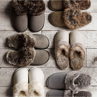 2016 New Winter Plush Indoor Slippers For Women Or Men,Mens Home Fur Slipper Shoes Woman Indoor Shoe pantufa chinelo chaussons