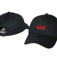 424 Embroidered Baseball Cap Hat