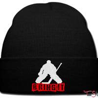 BRING IT ICE HOCKEY_PXF beanie knit hat