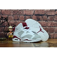 Air Jordan Retro 6 GS ALTERNATE Kid Basketball Shoes
