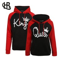 Cool Couple Hoodie - King And Queen His and Hers - New Design Couple Matching HoodieAT_93_12