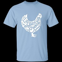 Life Is Better With Chickens Around T-Shirt