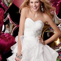 Prom Dresses 2014 - Sweet 16 by Alyce Paris 3545 Short White