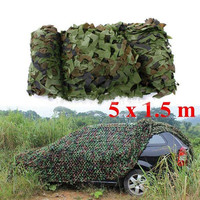 Outdoor Camouflage Sun Shelter Netting