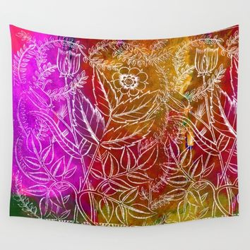 Into the artifice of eternity Wall Tapestry by anipani