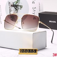 PRADA Casual Popular Summer Sun Shades Eyeglasses Glasses Sunglasses 3#