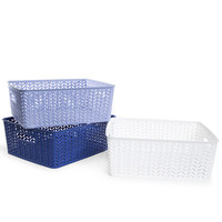 large plastic zig zag storage bin | Five Below