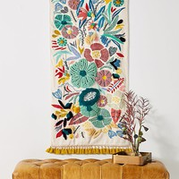 Embroidered Cleo Wall Hanging
