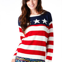 Stars & Stripes Southern Belle Sweater