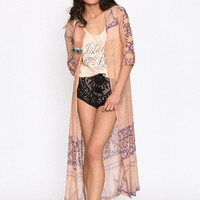 Xanadu Duster – Gold Dust