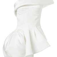 Cataclysm Bodice In White