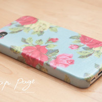 Apple iphone case for iphone iphone 3Gs iphone 4 iphone 4s iPhone 5 : Vintage Roses
