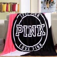 PINK Conditioning Throw Blanket Quilt For Bedroom Living Rooms Sofa
