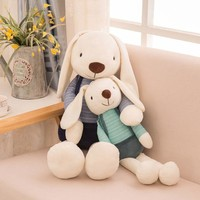 40cm Cute Bunny Plush Rabbit Toy Soft Cloth Stuffed Rabbit Easter Gift Decor Baby Appease Toys For Children Kids Gift