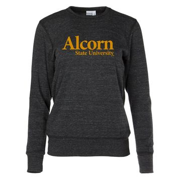 Official NCAA Alcorn State University Braves Women's Crew Neck Sweatshirt
