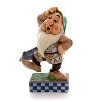 Jim Shore SLEEPY SLIDE Polyresin Snow White Seven Dwarfs 4049629